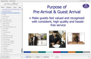 Guest Arrival E-learning course