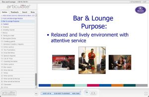 Bar and Lounge E-learning course