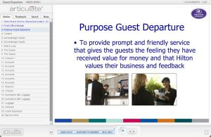 Guest Departure Standards E-learning course