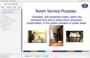 Room Service - Food and Beverage E-learning