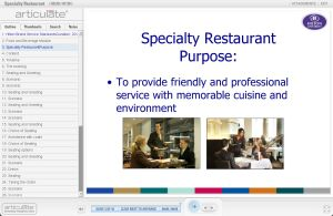 Restaurant - Food and Beverage E-learning